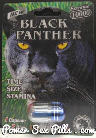 3D Black Panther 10000