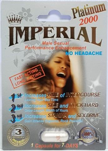 Imperial Platinum 2000mg PowerZEN Platinum 2000mg MiracleZEN Platinum 2000mg PremierZEN Platinum 5000 Triple Wicked Platinum 2000mg