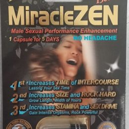 MiracleZen Plus 1500mg Extreme Gold 1750