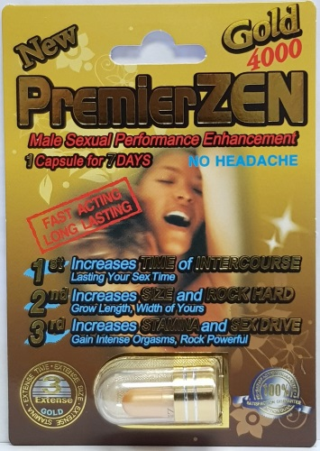 PremierZEN Gold 4000 Imperial Gold 2000mg PowerZEN Gold 2000mg MiracleZEN Gold 1750mg Triple Wicked Gold 1750mg