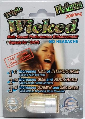 Triple Wicked Platinum 2000mg Imperial Platinum 2000mg PowerZEN Platinum 2000mg MiracleZEN Platinum 2000mg PremierZEN Platinum 5000